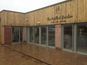 Archerfield Walled Garden Restaurant - Mark Smith Glazing Edinburgh