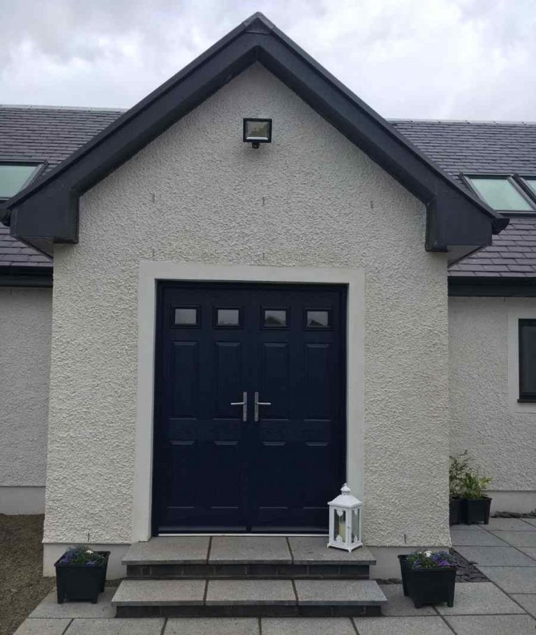 double front door - Mark Smith Glazing Edinburgh