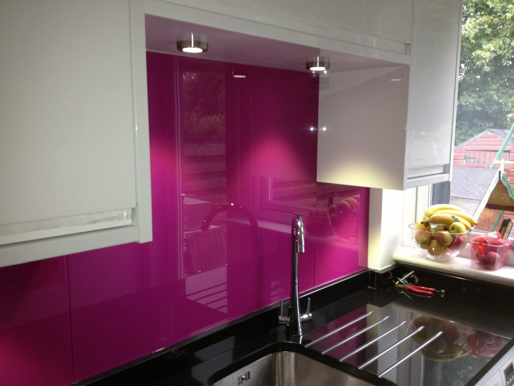 splashback - Mark Smith Glazing Edinburgh