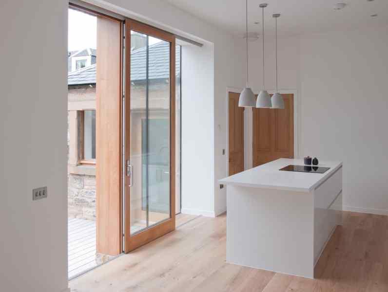 glass sliding doors - Mark Smith Glazing Edinburgh