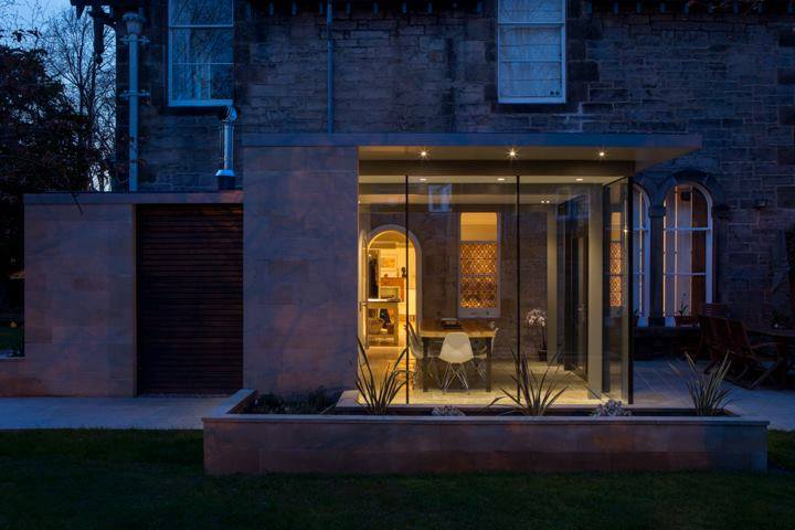 Trinity Home Extension - Mark Smith Glazing Edinburgh