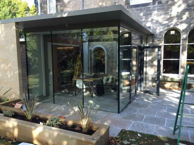 trinity glass extension - Mark Smith Glazing Edinburgh