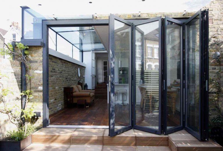 aluminium bi-fold doors - Mark Smith Glazing Edinburgh