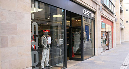 G-star Mark Smith Glazing Edinburgh