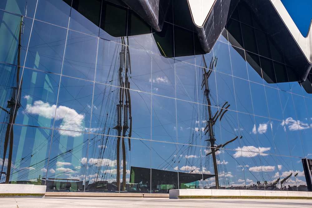 The Riverside Museum Glasgow - Mark Smith Glazing Edinburgh